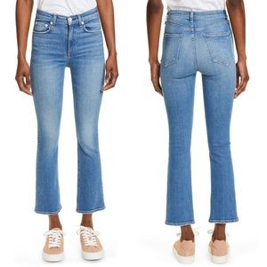 Rag & Bone Nina High Rise Ankle Flare Size 27